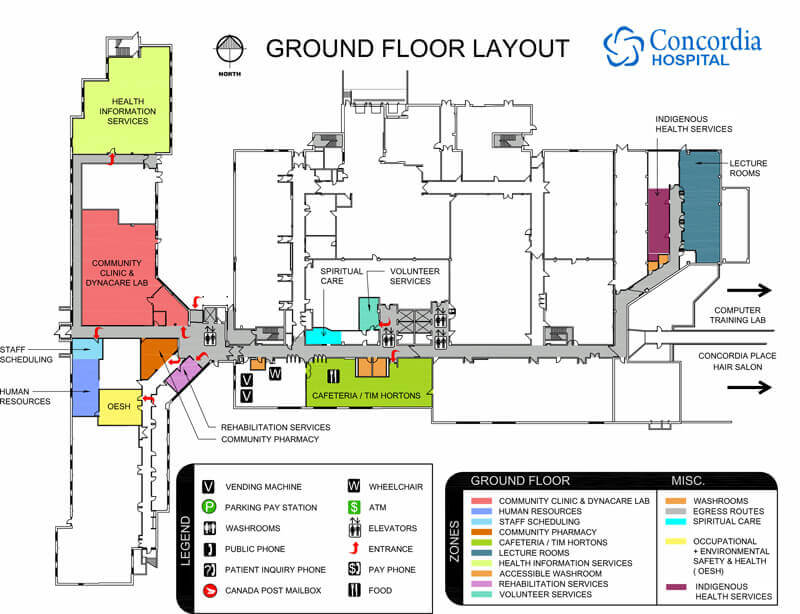 Concordia Hospital Ground Floor