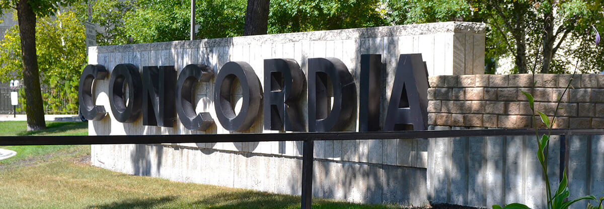 Concordia Hospital Sign