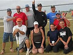 Group photo of Concordia Baseball Team