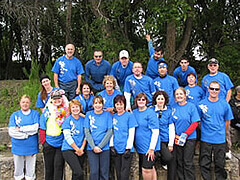 Concordia Hospital Staff Group Photo